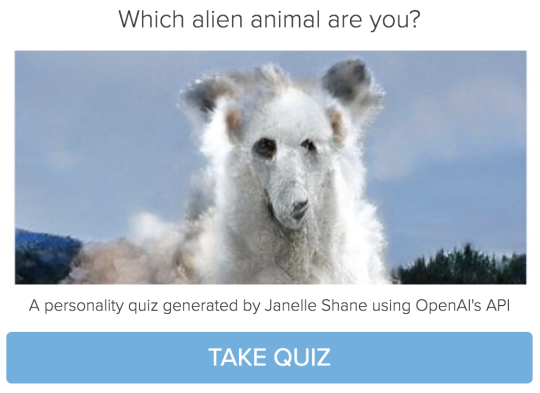 Which alien animal are you?