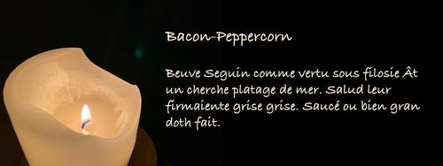 Bacon-Peppercorn Beuve Seguin comme vertu sous filosie Ât un cherche platage de mer. Salud leur firmaiente grise grise. Saucé ou bien gran doth fait.