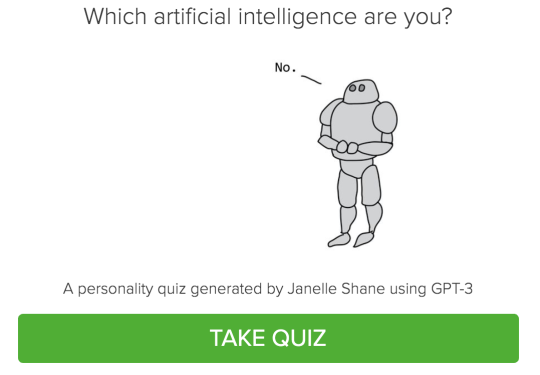 Which artificial intelligence are you?