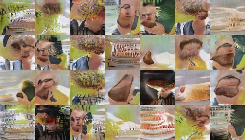"""To be sure, it's probably wishful thinking that makes any of this look like the Great British Bakeoff. The """"people"""" don't really have faces, and nothing else is remotely recognizable."""